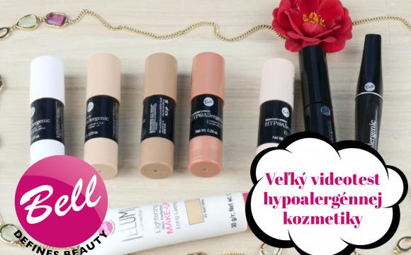VIDEOTEST  Veľký test Bell Cosmetics - Hypoalergénna kozmetika db3a7ad89b1