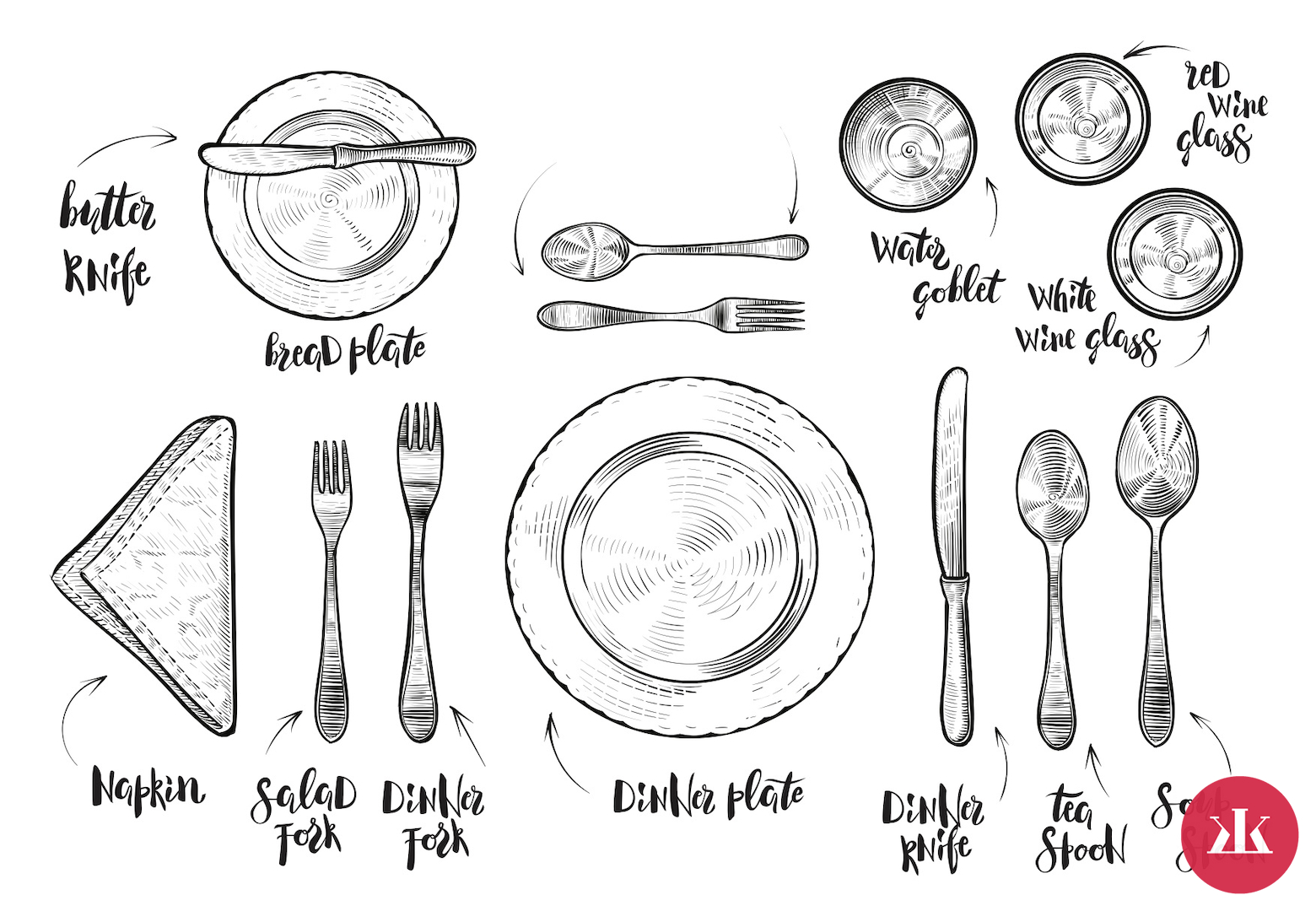 07bb7e782 Návod na správne stolovanie: Ako prestrieť na rodinnú oslavu ...
