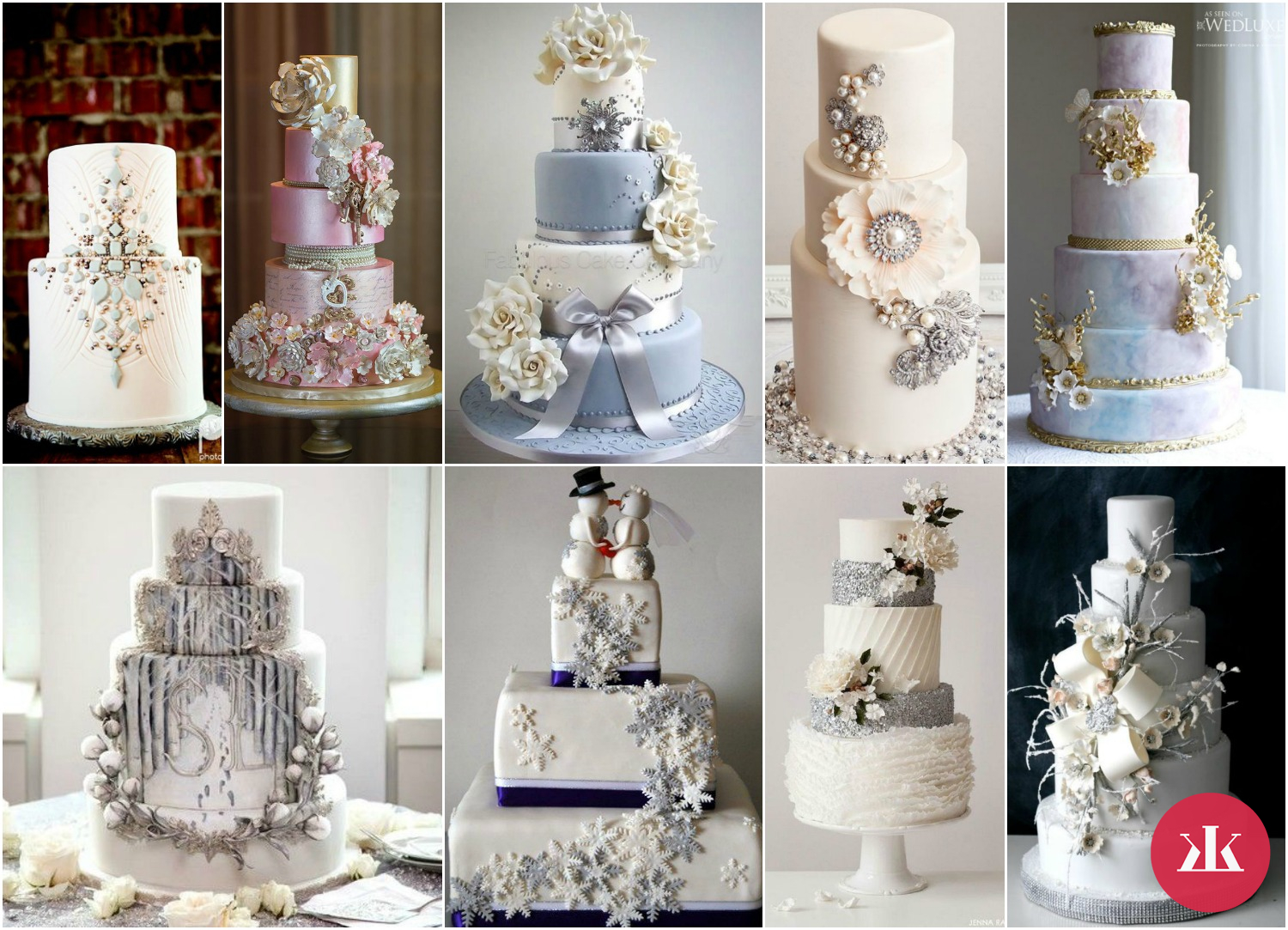 winter wedding cakes kamzakrasou