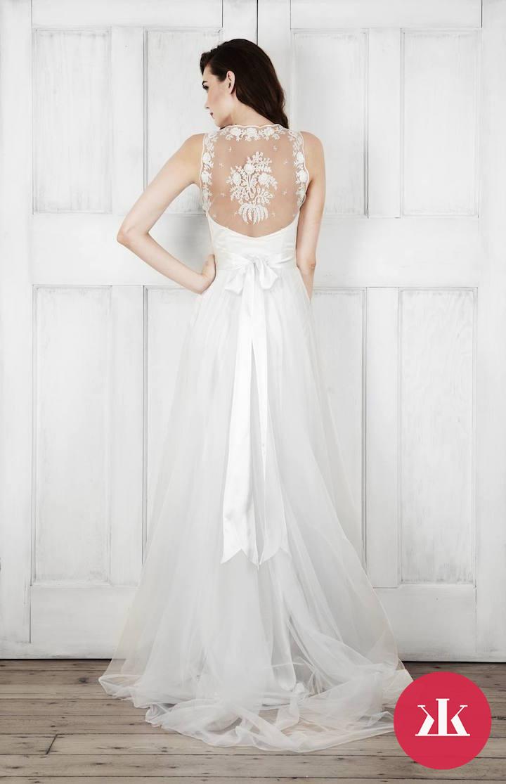 20bf7ef6a168 Vintage svadobné šaty od Catherine Deane - KAMzaKRASOU.sk