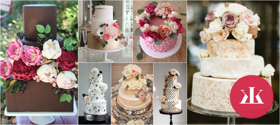 eaf9891a54 Inšpirujte sa - najkrajšie svadobné torty pre romantickú svadbu ...