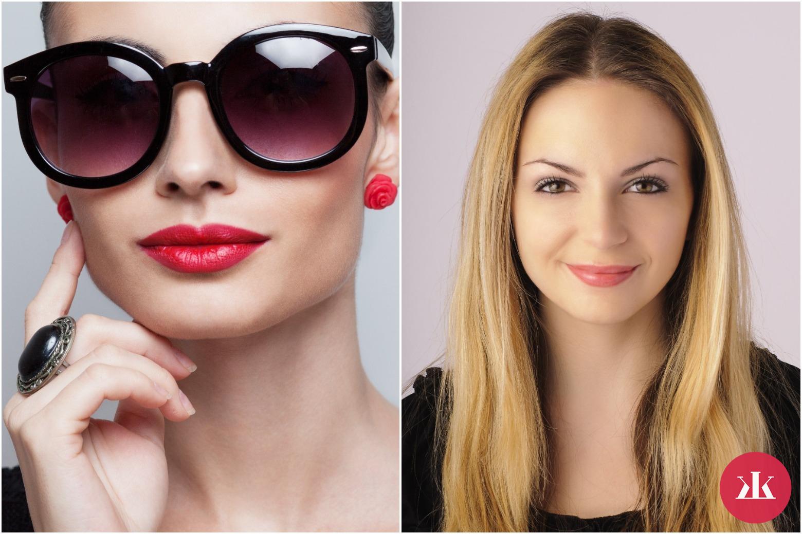8c981e143 Slnečné okuliare podľa typu tváre: V akých budeš vyzerať dokonalo ...