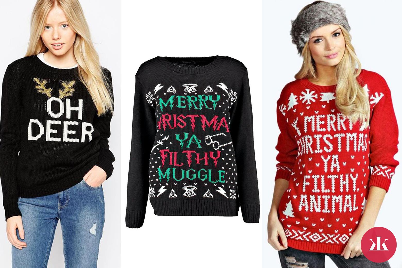 bd423fb170ac vianočné svetre s nápismi