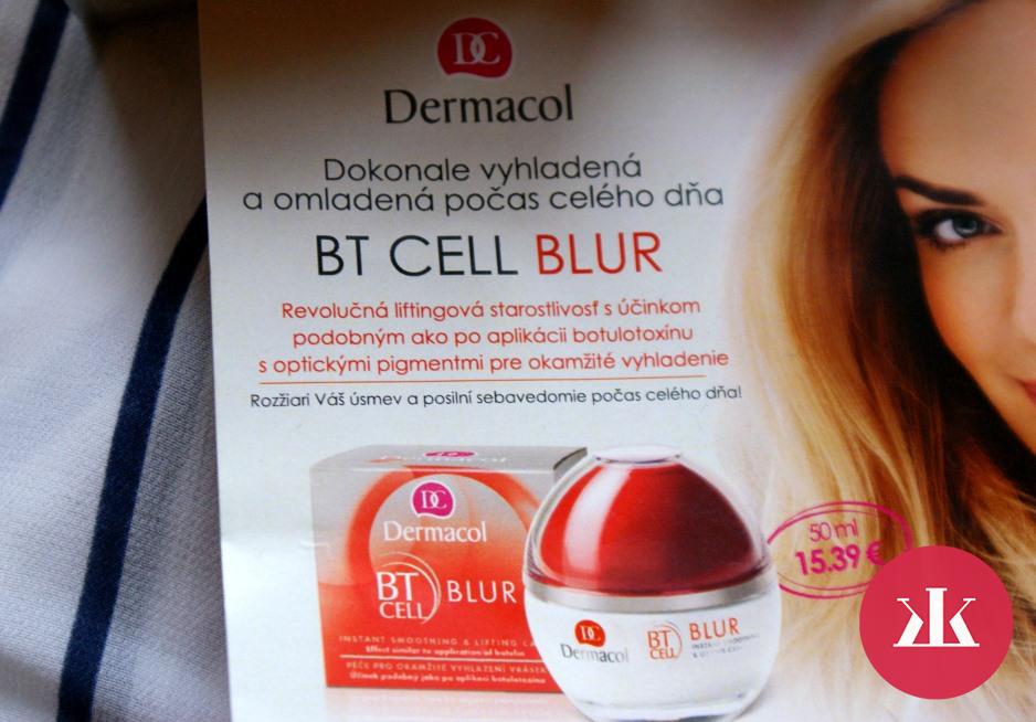 Test Dermacol Bt Cell Blur Pleťov 253 Kr 233 M Kamzakrasou Sk
