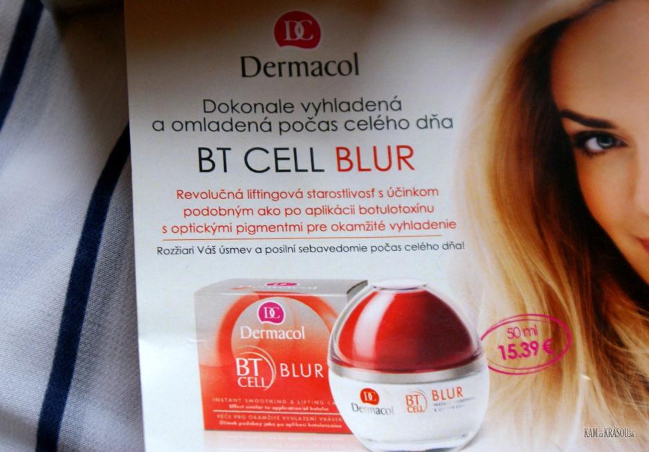 Test Dermacol Bt Cell Blur Pleťov 253 Kr 233 M Kamzakr 193 Sou Sk