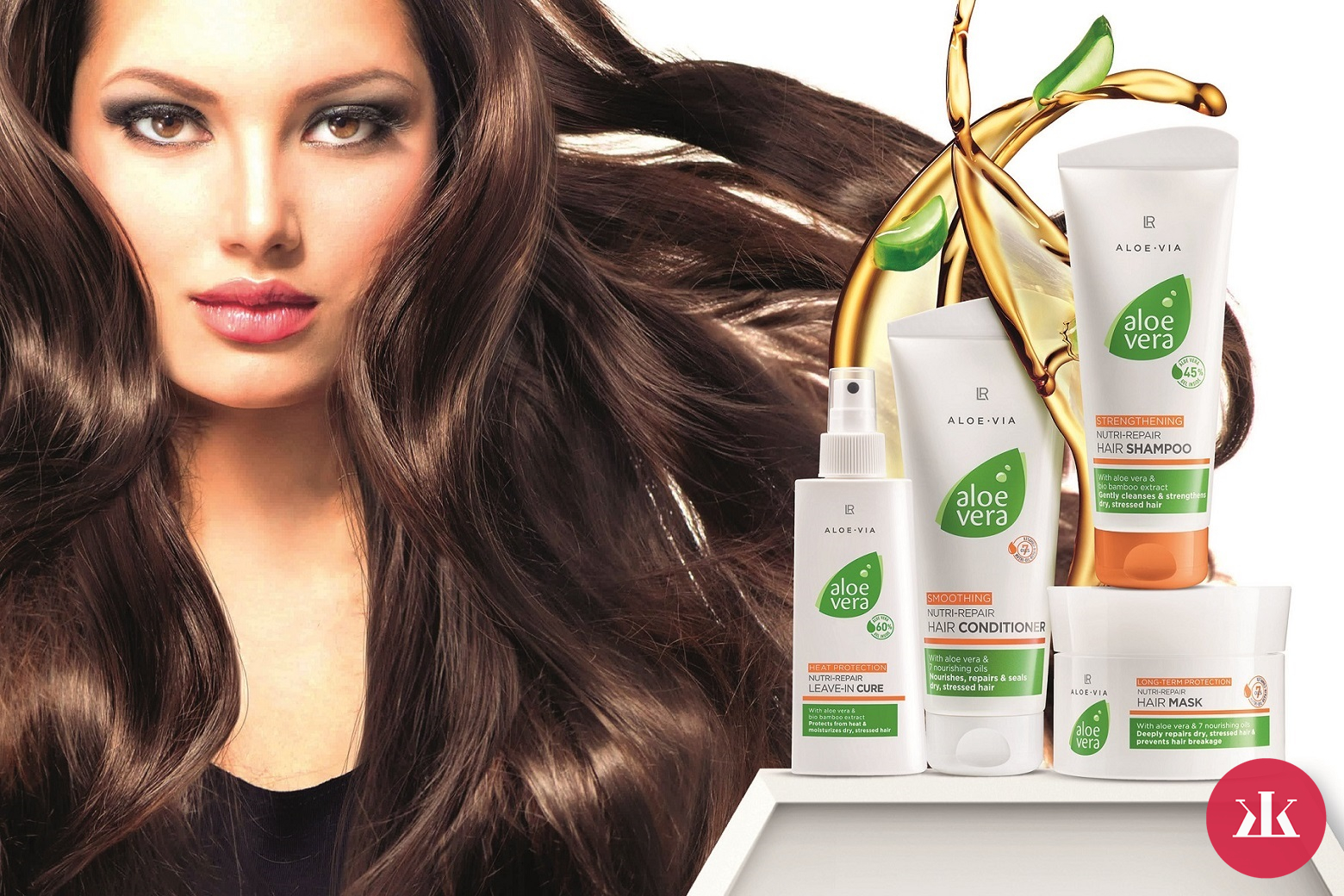 LR ALOE VIA NUTRI-REPAIR HAIR CARE