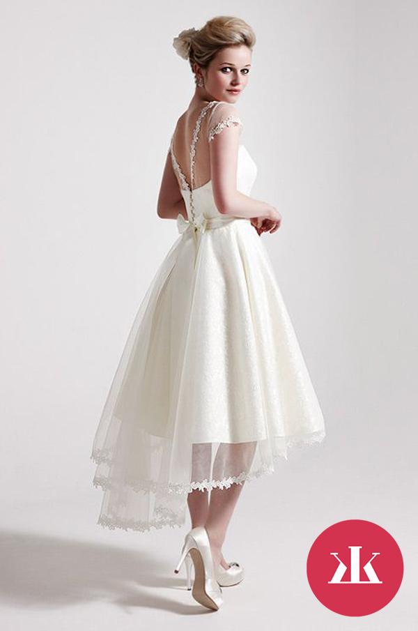 Krátke svadobné šaty - KAMzaKRASOU.sk dd28e6c8aaa