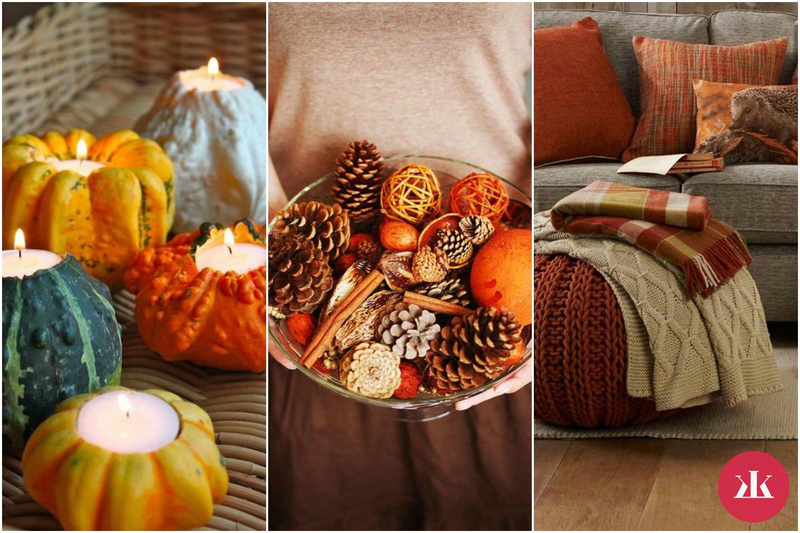 212d3d8c5876 Jesenné farby v domácnosti  Vnes si do bytu kúsok jesene ...