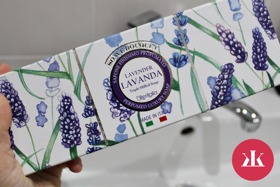 TEST  Talianske rastlinné mydlá - Levanduľa - darčeková kazeta ... 29613c81cfd