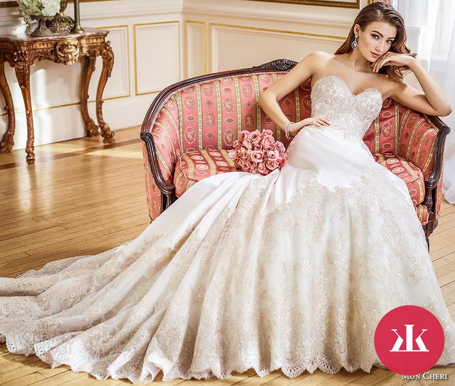 700e699f92d6 Exkluzívne svadobné šaty z dielne Mon Cheri - KAMzaKRASOU.sk