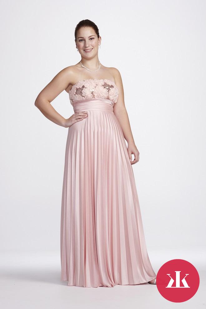 4105bd80b2cf Nádherné spoločenské šaty aj pre ženy s pár kilami navyše ...