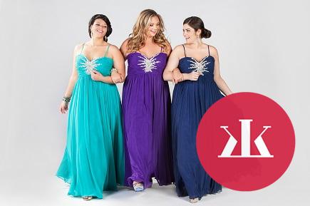 1e82c1e69049 Galéria. 1 z 12. Nádherné spoločenské šaty aj pre ženy s pár kilami navyše  ...