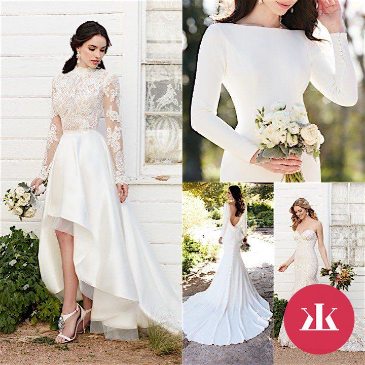 70efa15370a6 Elegantné svadobné šaty Martina Liana - KAMzaKRASOU.sk
