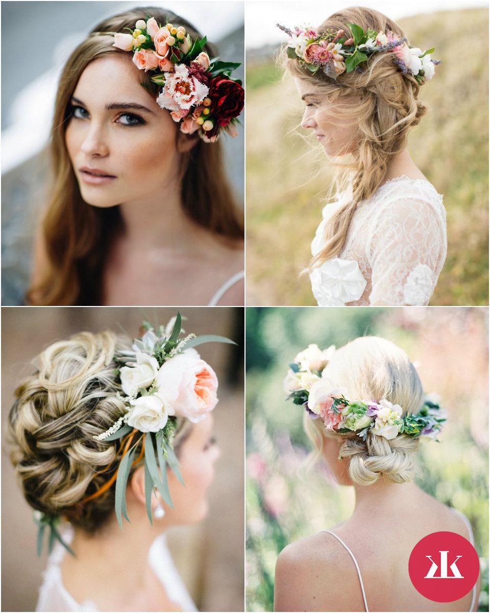 701872abe Svadobné účesy so živými kvetmi vo vlasoch - KAMzaKRASOU.sk