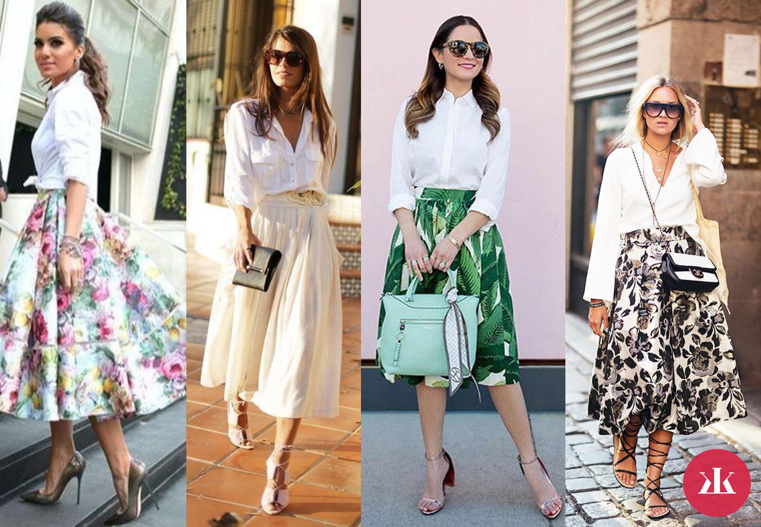 ... Tieto kúsky musíš mať! Toto sú 3 najštýlovejšie kabelky na leto · biela  košeľa a sukňa e388c5b7d2e
