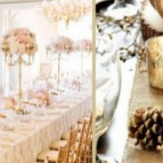 white and gold wedding table decorations svadobn 233 inšpir 225 cie zlat 225 svadobn 225 v 253 zdoba kamzakrasou sk 1298