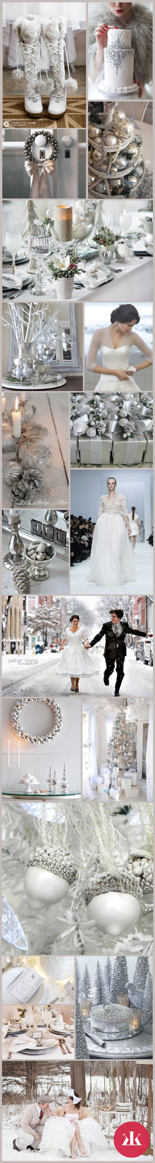 f53a8c18e7bf Zimná svadba - výzdoba