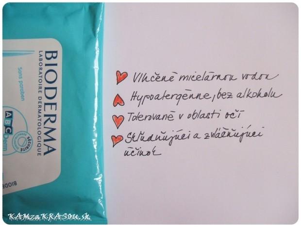 ABC Derm H2O - Čistiace obrúsky od Biodermy