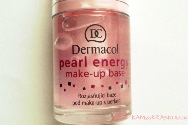 Dermacol pearl energy make-up base