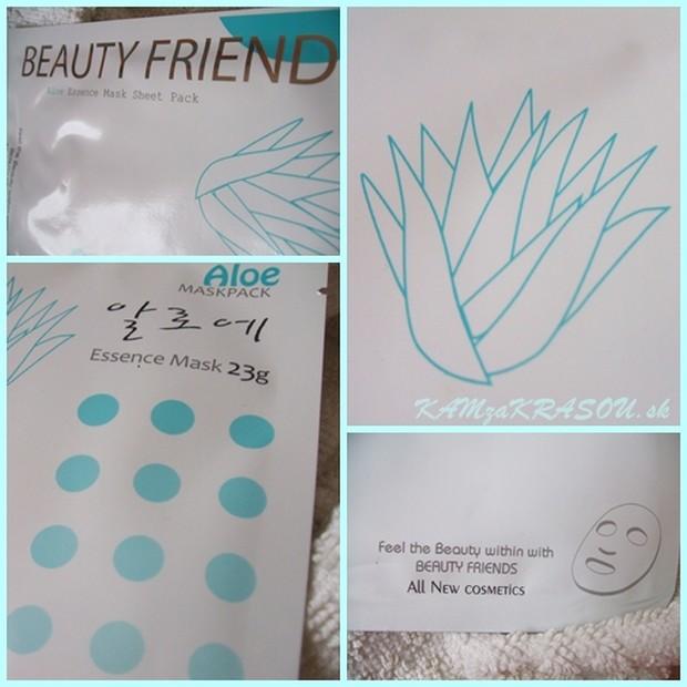 Beauty Friends - Maska Aloe Vera