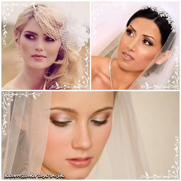 Trendy v svadobnom líčení