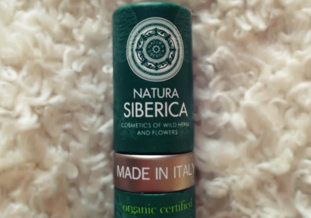 Natura Siberica - Cédrový balzam na pery