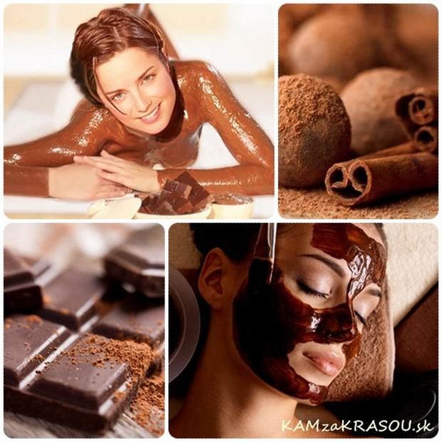 Čokoládová masáž - sladký pôžitok