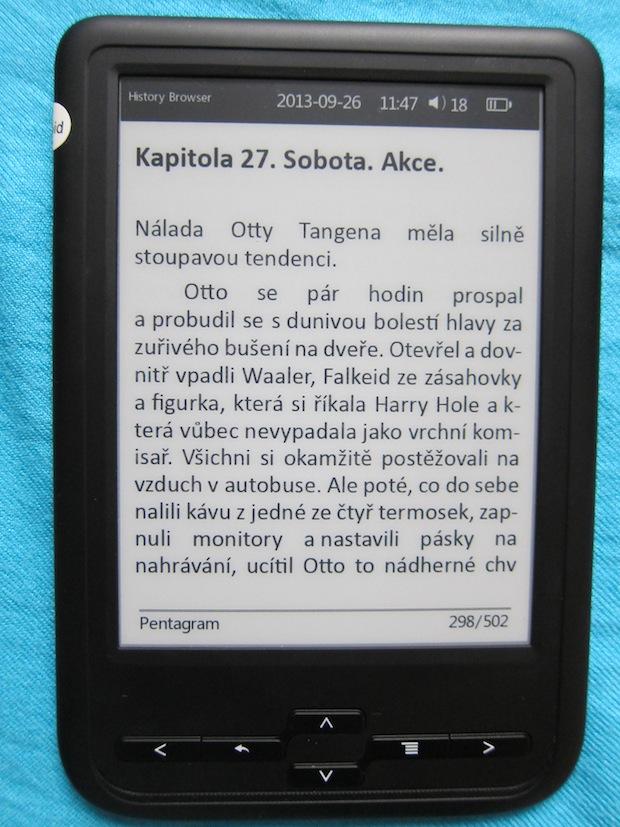 Prestigio Nobile PER3464B - el. čítačka kníh