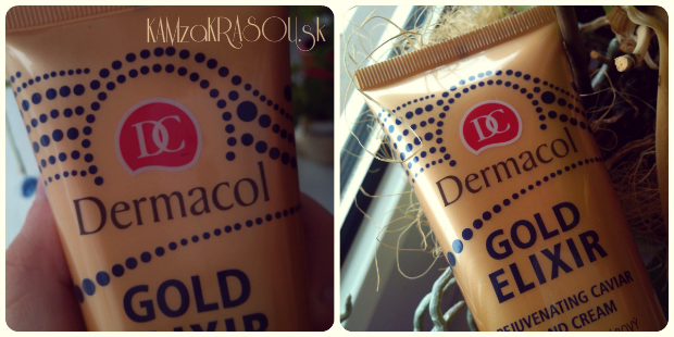 Krém na ruky Dermacol Gold Elixir
