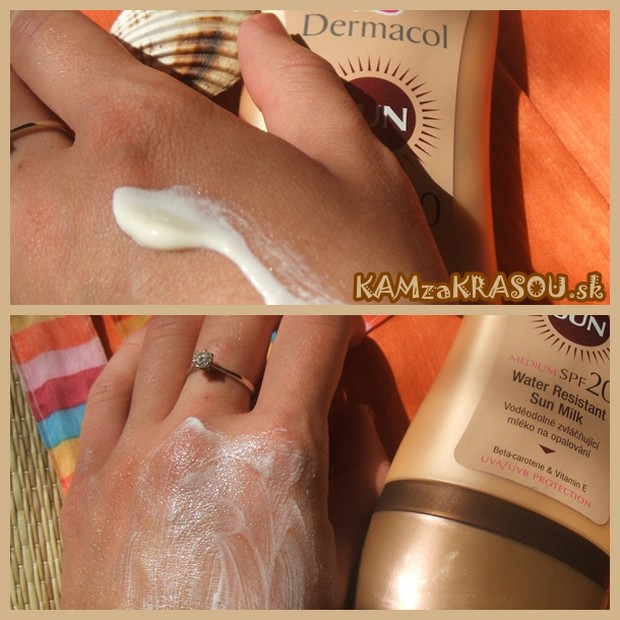 Dermacol - Water Resistant Sun Milk SPF 20