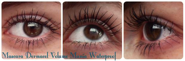 Dermacol - vodeodolná mascara Volume mania