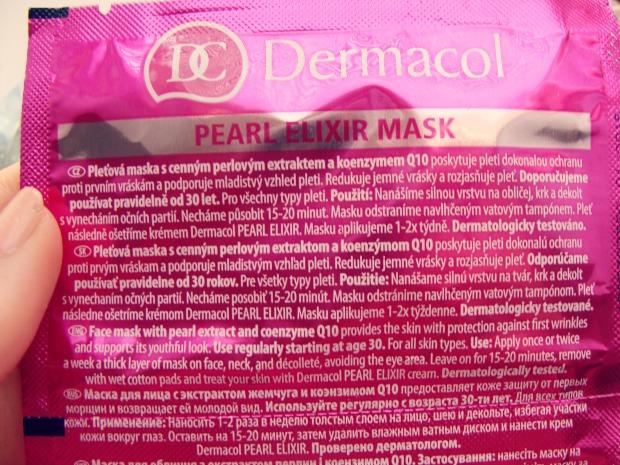 Dermacol - Pearl Elixir maska
