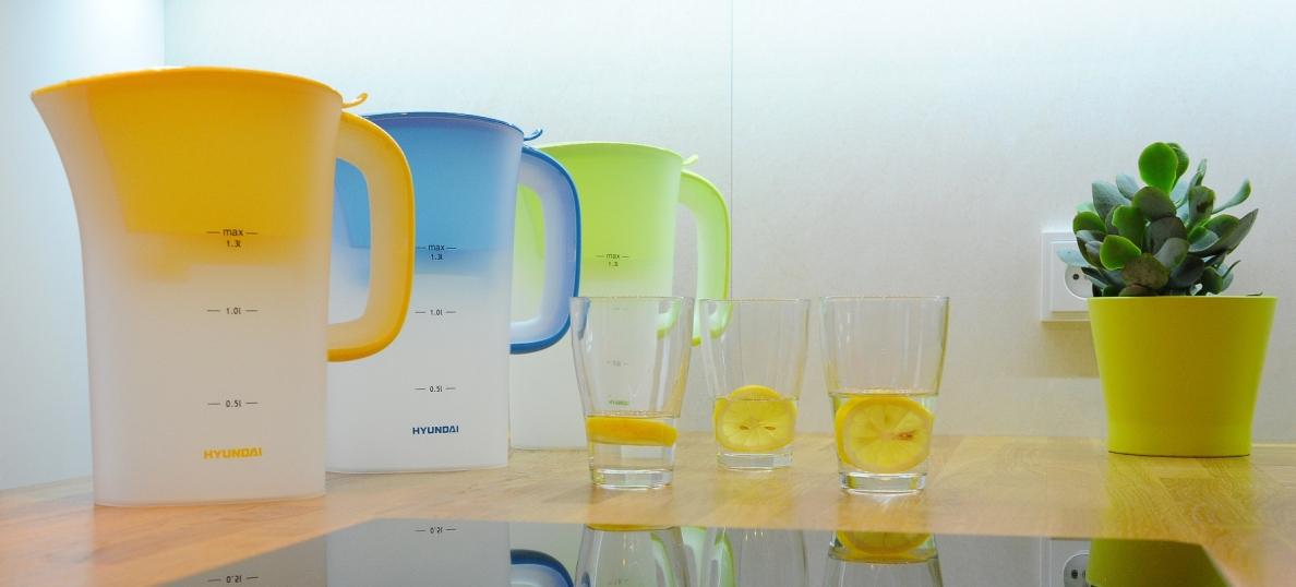 Súťaž o filtračné kanvice Hyundai Aqua Optima