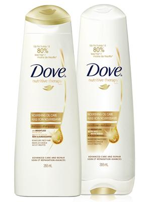 DOVE - Šampón NOURISHING OIL CARE
