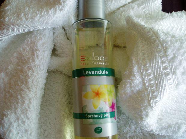 Levanduľový sprchový olej – Saloos