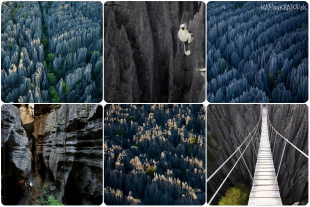 Zaujímavé miesta vytvorené prírodou