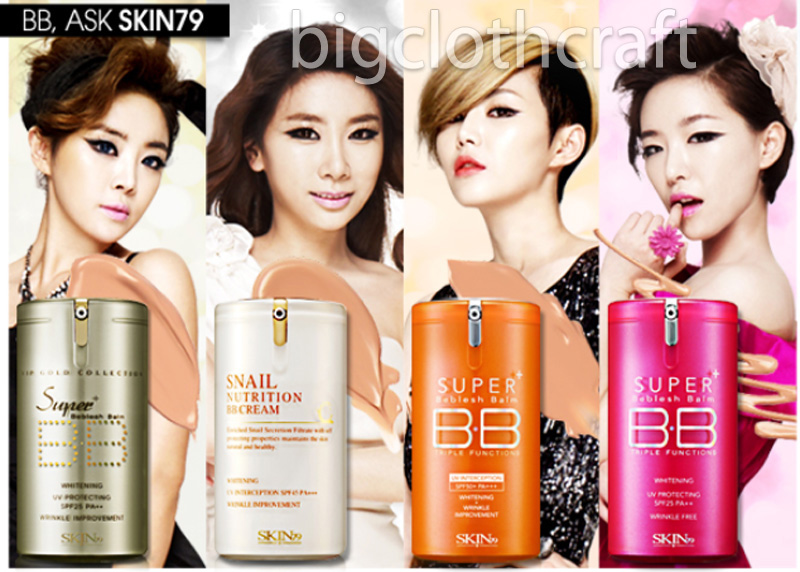 SKIN79 BB CREAM - miniature set