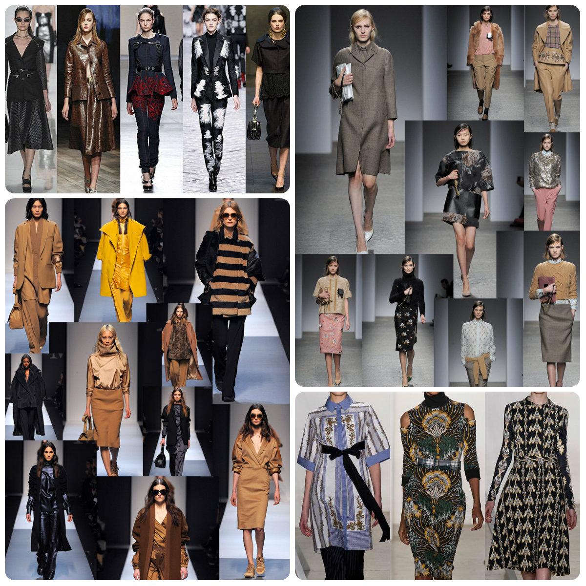 Módne trendy jeseň/zima 2013