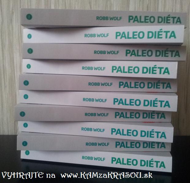 Hrajte o 10 kníh - Paleo diéta od Robba Wolfa