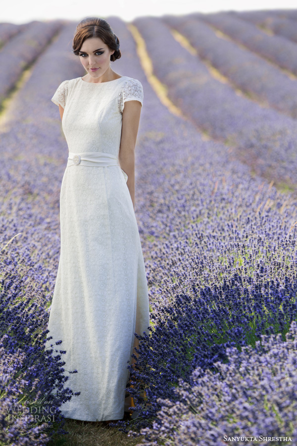 Svadobné šaty inšpirované Audrey Hepburn