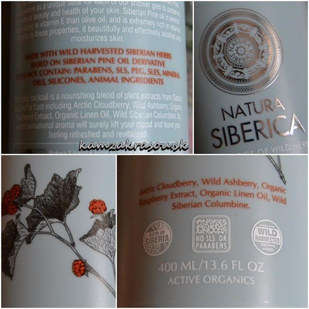 Natura Siberica - Vitamínový sprchový gél