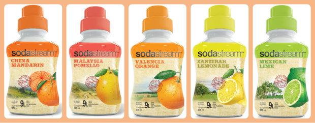 Skroťte horúce dni s nápojmi SodaStream