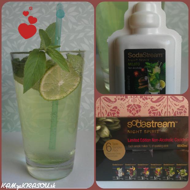 Sodastream - chutné sirupy