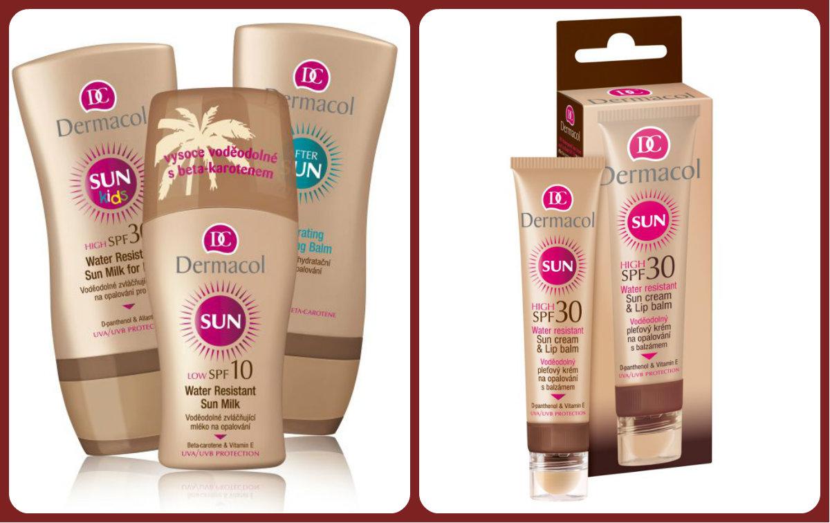 Vyhrajte 3balíčky slnečnej kozmetiky Dermacol