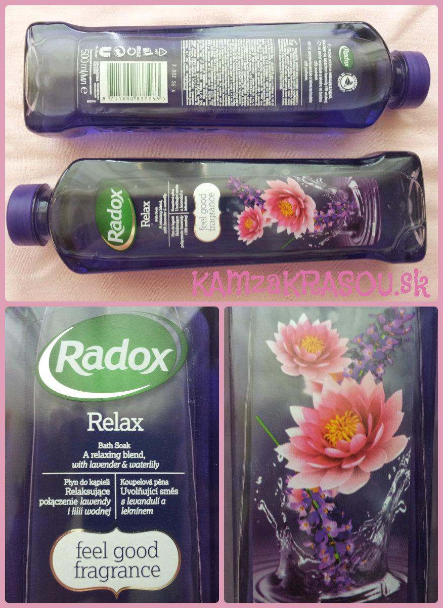 Vyhrajte novú penu do kúpela Radox