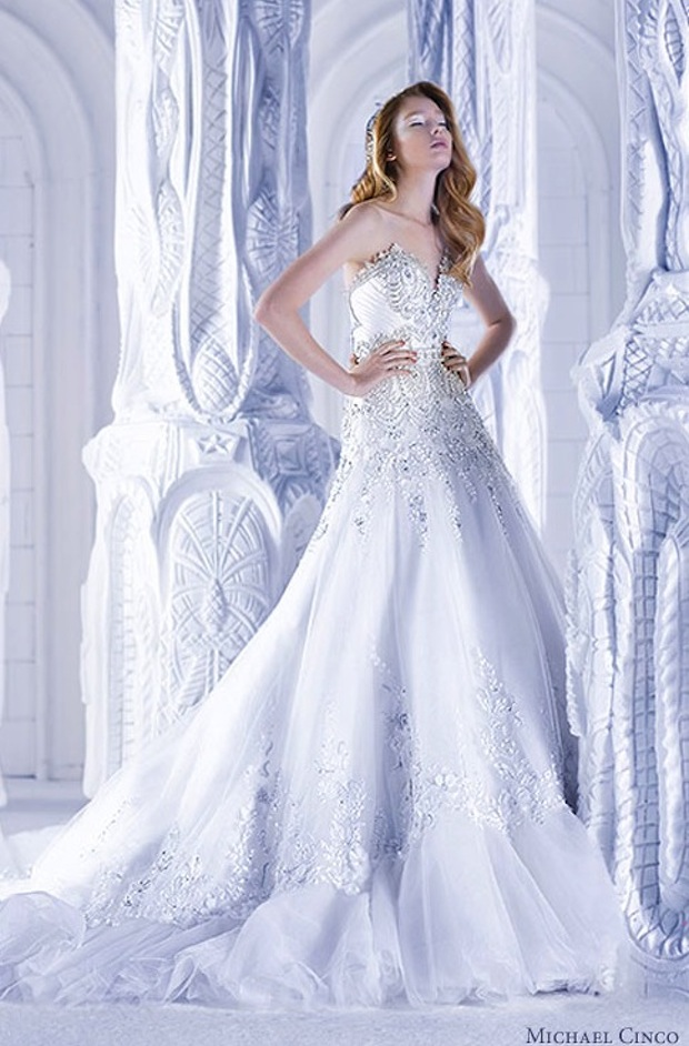 Svadobné šaty Michael Cinco 2013