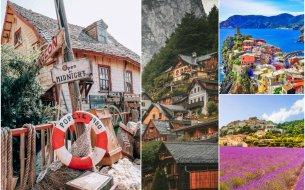 Najkrajšie dediny po celom svete: Budeš ich chcieť ihneď navštíviť!