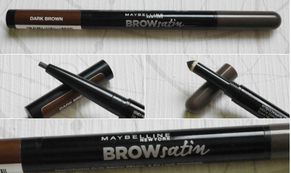 TEST: Maybelline Brow Satin ceruzka na obočie duo