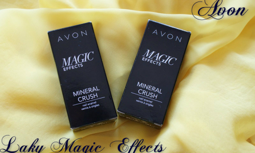 TEST: Avon - Laky na nechty - Magic Effects (Mineral Crush)