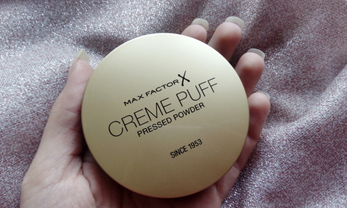TEST: MAX FACTOR - Creme Puff - Púder